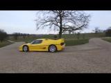 Ребята на двух Ferrari F50 сходят с ума