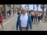 Дед пришел на Muscle Beach, чтобы показать на что он способен