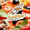 FoodMan – доставка суши и пиццы в Киеве