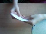 как сделать из бумаги лису