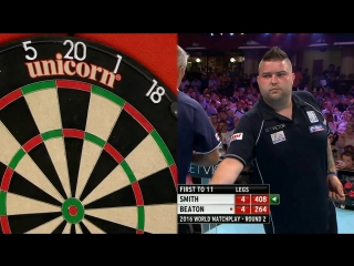 Michael Smith v Steve Beaton (PDC World Matchplay 2016 / Round 2)
