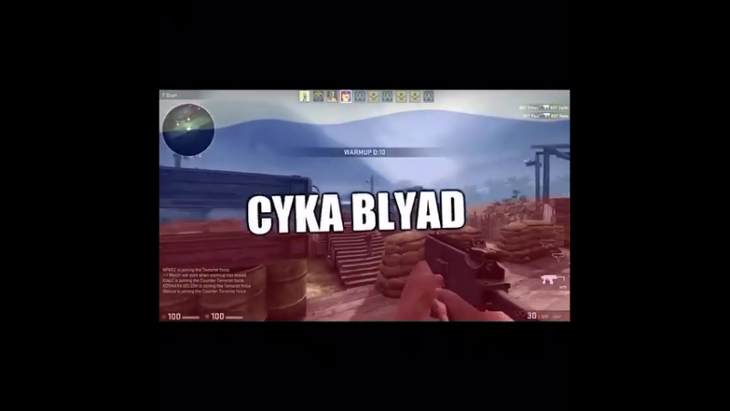 CykaBlyat Russian CSGO