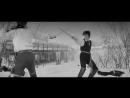 «Капитанская дочка» (Мосфильм, 1958) — дуэль Гринёва и Швабрина (первый день)