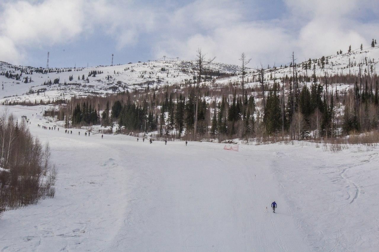 Гора Гладенькая. Вертикальный километр