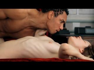 Порно - Бледная красавица Zoe в сексуальной связи с негром - WOW Porn (2013)