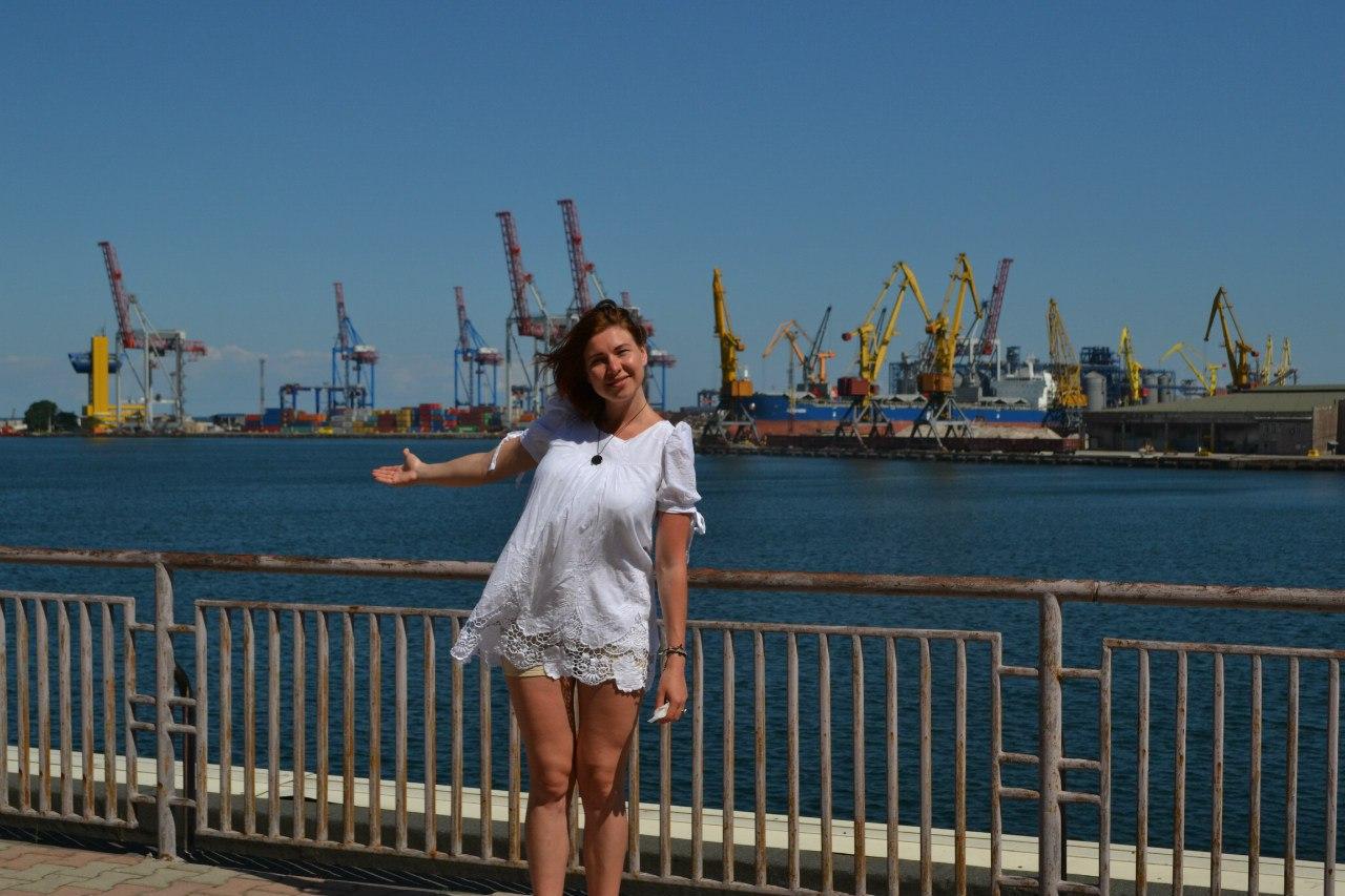Елена Руденко (Валтея). Украина. Одесса. Морской вокзал. Июнь 2016 г. (фото и описание). Fh9LafA4cdk