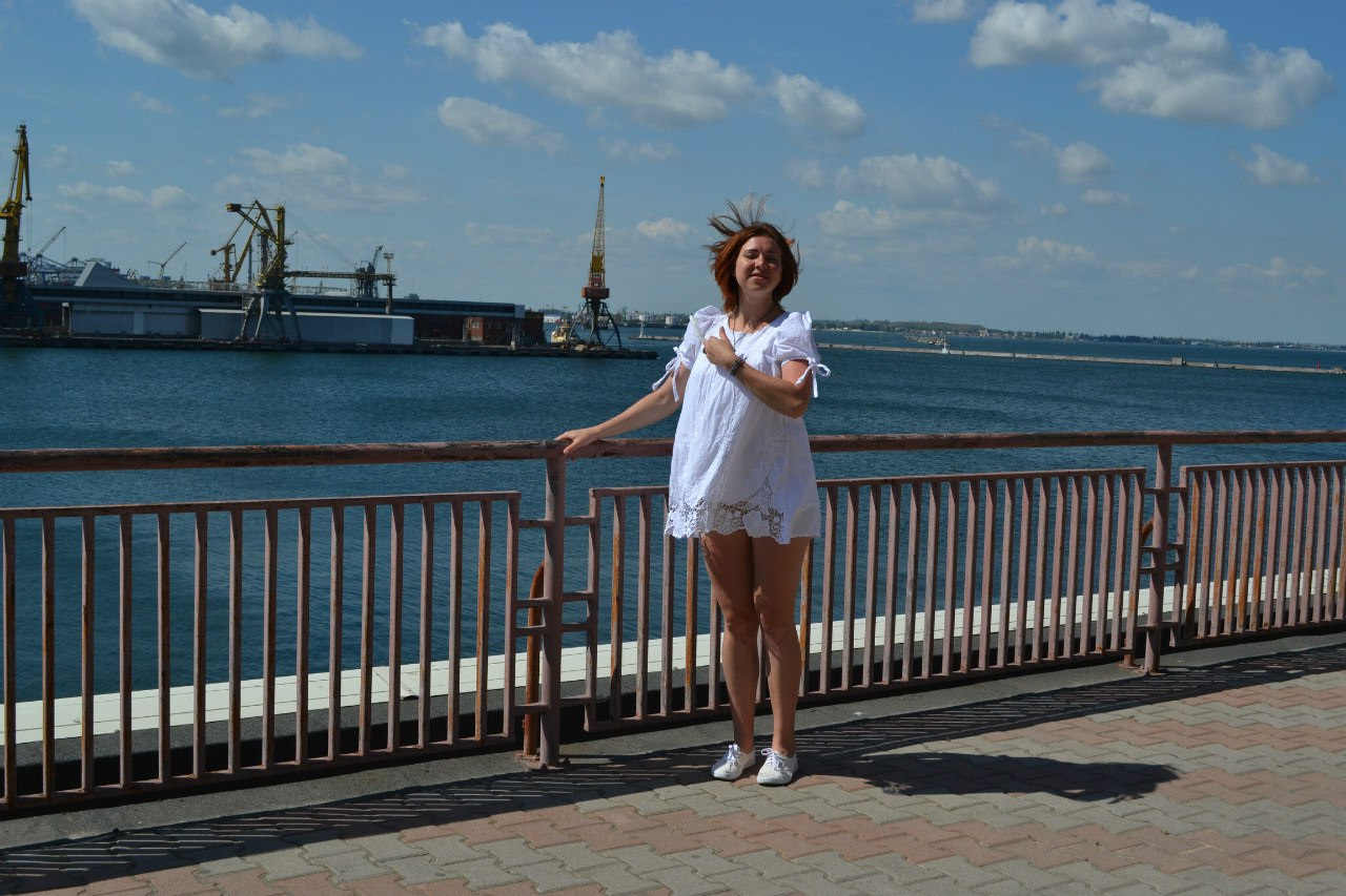 Елена Руденко (Валтея). Украина. Одесса. Морской вокзал. Июнь 2016 г. (фото и описание). IzxzCybW3MU