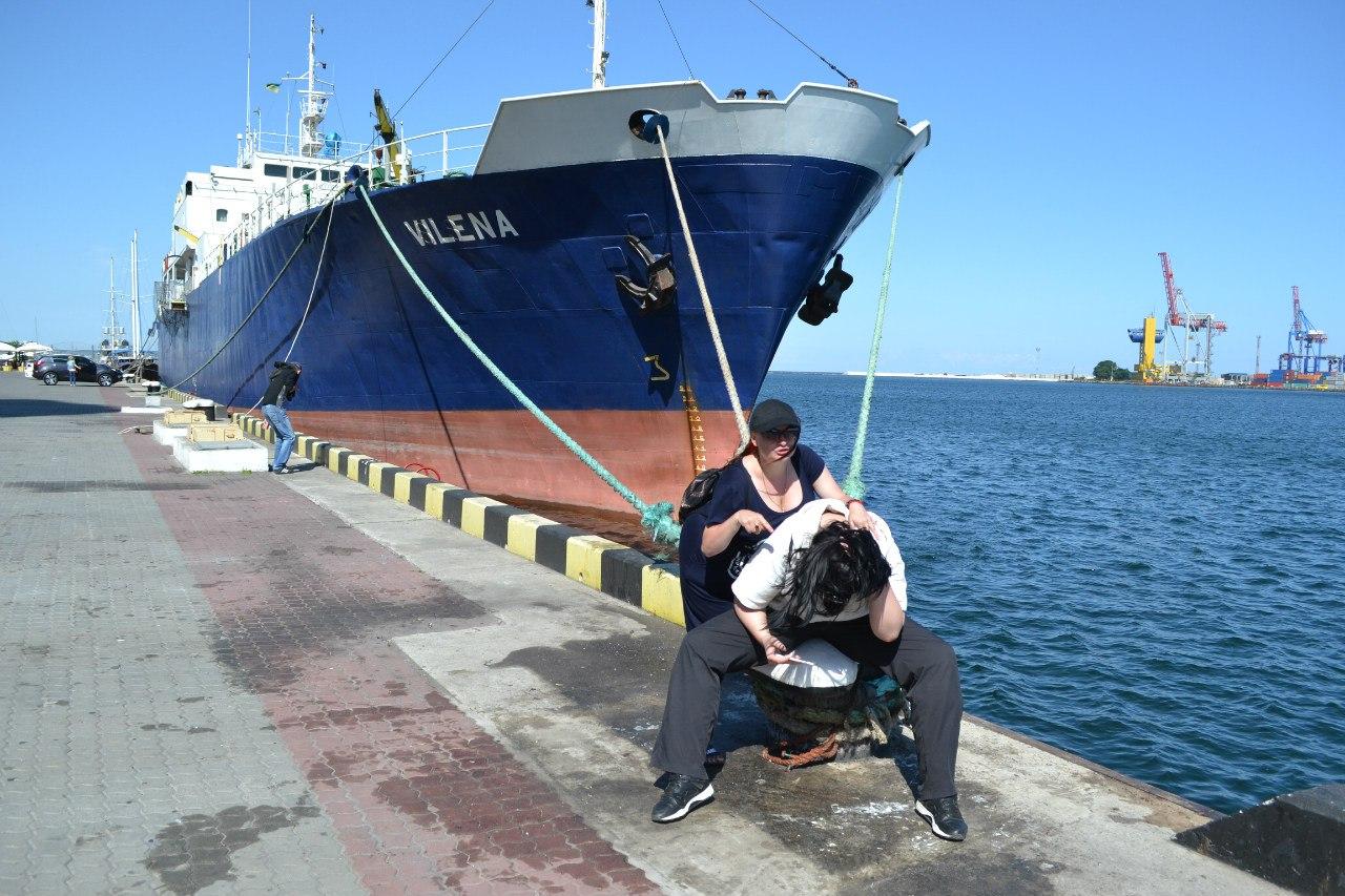 Елена Руденко (Валтея). Украина. Одесса. Морской вокзал. Июнь 2016 г. (фото и описание). Wm5KRXnT4pM