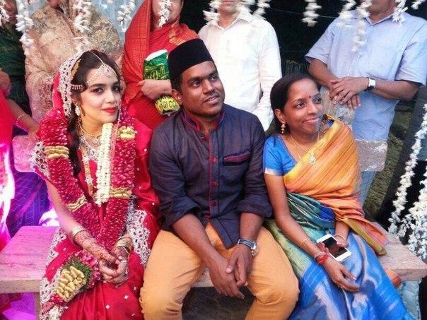 свадьба Yuvan Shankar Raja - Jaffrunnisha