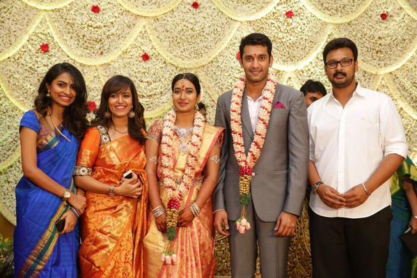 свадьба Arulnithi- Keerthana