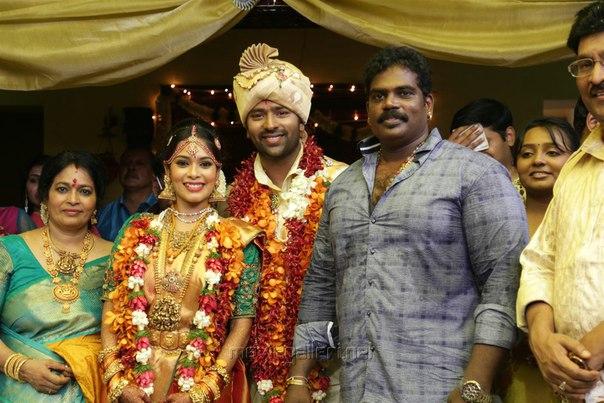 свадьба Shanthanu Bhagyaraj-Keerthi