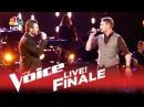 The Voice 2015 Barrett Baber and Blake Shelton Finale Rhinestone Cowboy