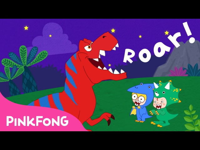 Move Like the Dinosaurs | Dinosaur Songs | PINKFONG Songs for Children