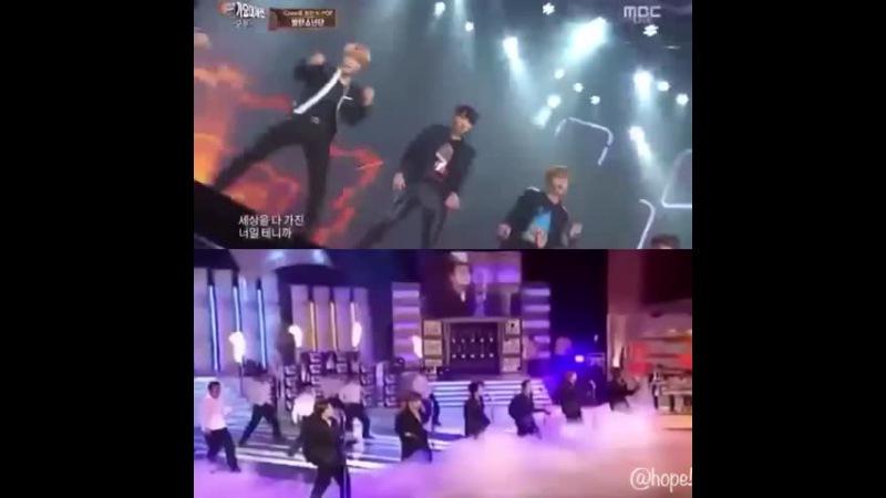 BTS × SHINHWA perfect man これはやばい 。・゚・ *ノД`* ・゚・。