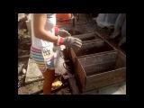 Как сделать шлакоблок в домашних условиях: иготовление формы для полнотелого шлакоблока