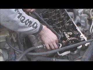 Mercedes-Benz W124, замена маслосьёмных колпачков (сальников клапанов)