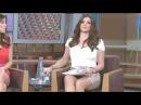 Засветы под юбками у ведущих на ТВ
