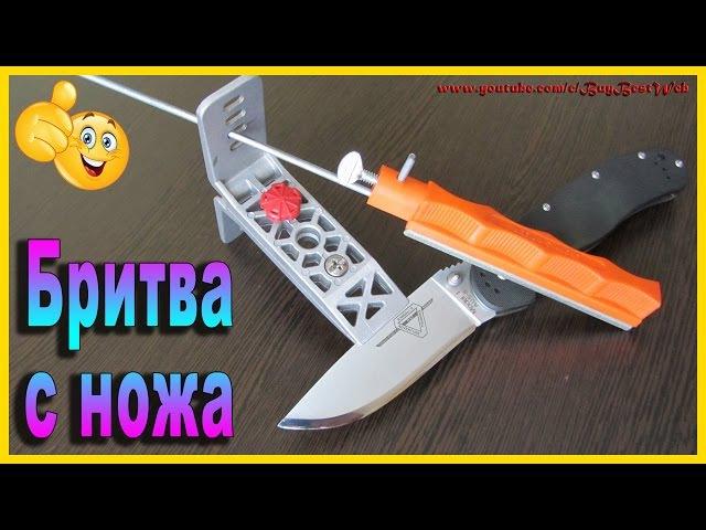 Как заточить нож до бритвенной остроты используя станок для заточки ножей