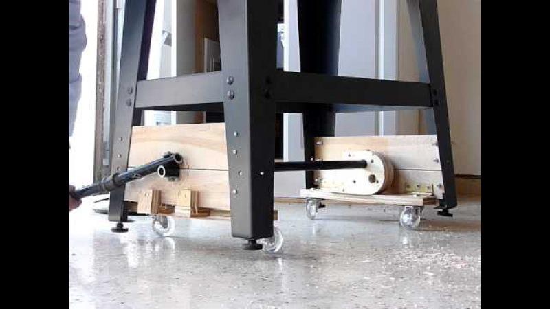 Bandsaw mobile base