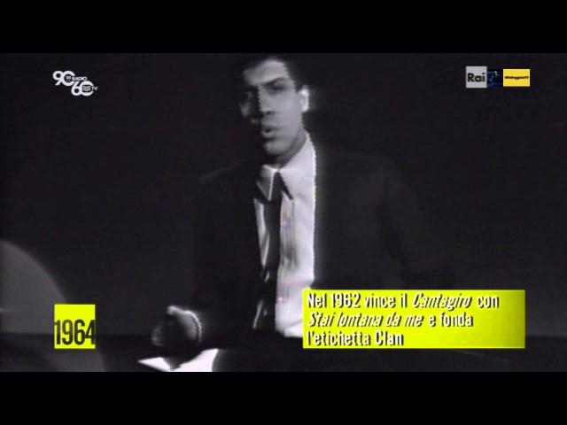 Adriano Celentano Ciao Ragazzi 1964 rec tv HD