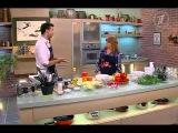"""Наталья Бестемьянова в гостях у программы """"Смак"""" готовит французский салат с рук..."""