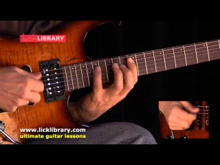 Pentatonic Concepts Performance By Alex Machacek Licklibrary