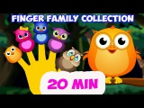 Finder Family Collection. 20 Finger Family songs. Daddy Finger Nursery Rhymes