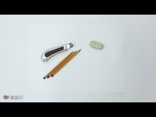 DrawFox. Рисунок карандашом для начинающих. Урок 0-1. Подготовка к работе.