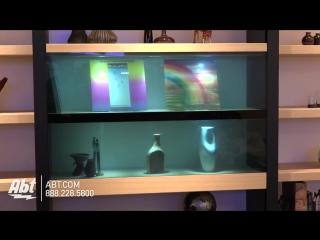 Panasonic показала дисплей, который становится прозрачным.