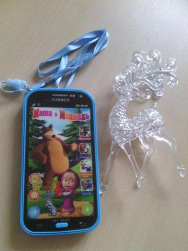 отличная игрушка для ребёнка, доволен как и я))) громкость регулируется и мы вопрос решили с помощью скота, не много заклеили