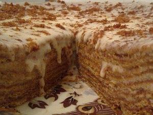 Медовик торты