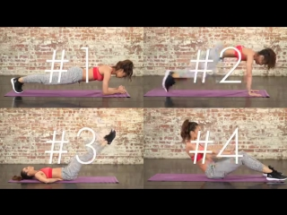 Workout_ Top 4 Exercises For A Flat Stomach _ Danielle Peazer