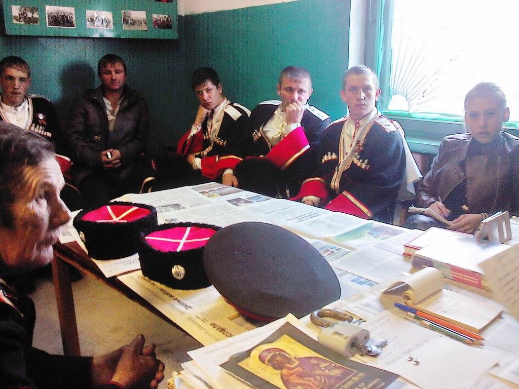 В станице Сторожевой состоялось заседание правления станичного казачьего общества