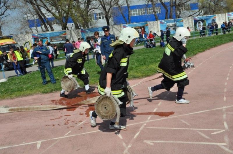 Школьники Зеленчукского района призеры республиканских соревнований «Школа безопасности»