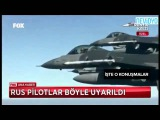 Turk pilotlar Rus ucagn bu konusmayla uyarms