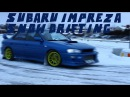 Subaru Impreza Snow Drifting