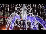 Видео город Красноярск зимой.