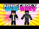 МИЛЛИОН ЗОМБИ! - Mob Wars Minecraft #1
