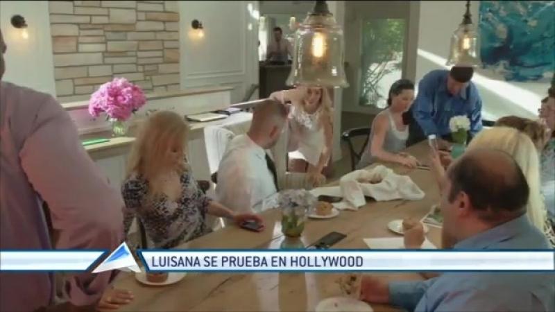 El Trece - Te mostramos las primeras imágenes del debut de Luisana Lopilato en el cine norteamericano, январь 2016