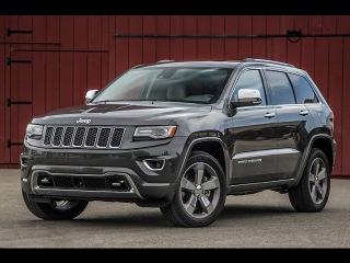 Джип Гранд Чероки 2015 Тест драйв Обзор двигатель выхлоп / Jeep Grand Cherokee 2015 тест драйв
