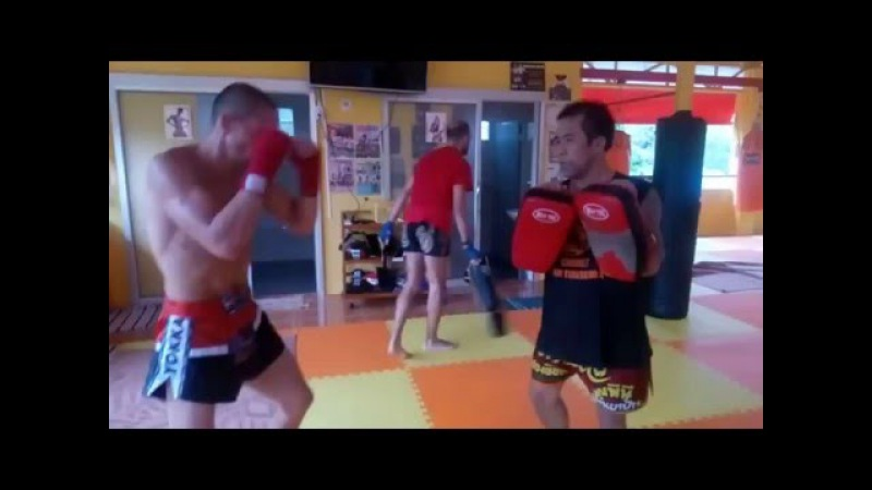 7 Muay Thai training- Andriy Lutsak Pitbull-Sambir