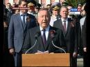 «Россия 24»: трансляция 9 Мая в Барнауле. Парад Победы на площади Советов