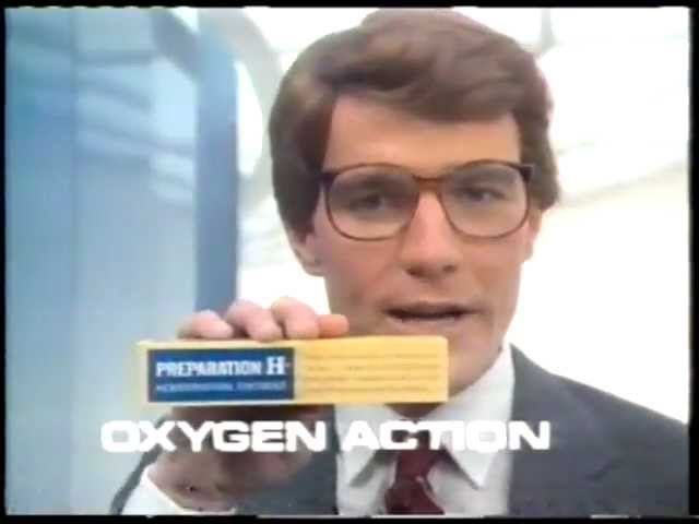 Preparation H ad with Bryan Cranston (early 80s)| History Porn