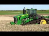 amazing tractor accident, extreme tractor stuck in deep mud, big track john deere stuck in mud