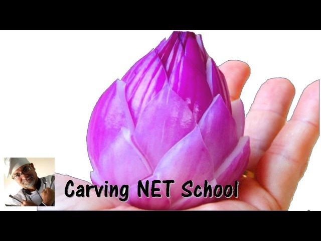 Lesson 25, Carving, การแกะสลักผลไม้, 水果雕刻, Ukiran buah, 果物のカービング, Khắc tr