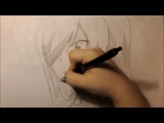 How to draw Erza Skarlet from Fairy tail/рисуем Эрзу Скарлет