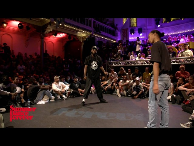 Paradox vs Franky Dee JUDGE BATTLE Hiphop Forever - Summer Dance Forever 2016