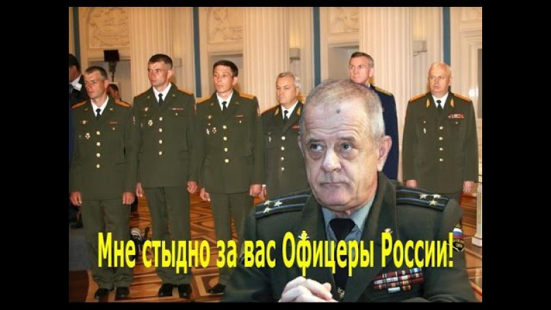 КВАЧКОВ В.В. МНЕ СТЫДНО ЗА РУССКИХ ОФИЦЕРОВ И РУССКИХ МУЖИКОВ!.