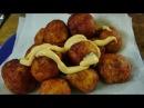 Сырно картофельные шарики во фритюре