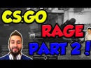 CSGO RAGE MONTAGE! PART 2 feat. Moe, Mini Moe, Steel and more! COMPILATION